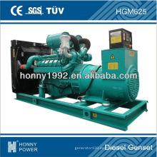Cabeza del generador de 625kVA / 500kW con el alternador del maratón