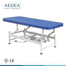 AG-ECC08 Hauteur ajuster imperméable à l'eau plate-forme médicale d'examen portable