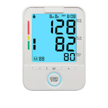 Monitor digital de presión arterial del operador del brazo superior BP