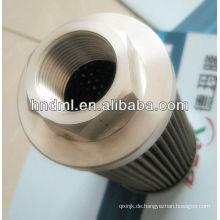 Der Ersatz für LEEMIN-Saugfilterelement WU-160X100-J, Gewindeanschluss M48X2, Generator-Filterkartusche