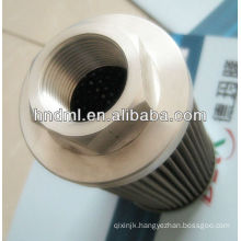 The replacement for LEEMIN suction filter element WU-160X100-J, Threaded connection M48X2, Generator filter cartridge