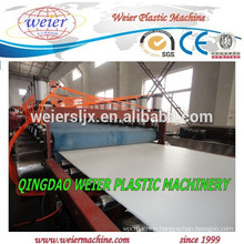 PVC foamed board manufacturing extrusion machine