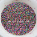 Sparking Colors Electroplate Tony Glass Seed Beads Sticker for Nail Beautiful