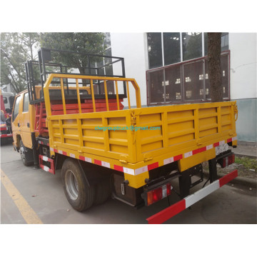 mobile hydraulic high rise aerial work platform operation truck
