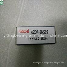 Красный резиновое уплотнение глубокий шаровой Подшипник nachi Япония 6204-2nse9
