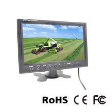In-Car LCD de 9 pulgadas para reposacabezas o estacionamiento CCTV
