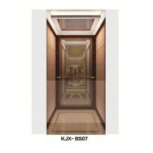 Villa elevador com espelho acabado em aço inoxidável (KJX-BS07)