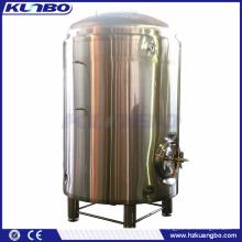 KUNBO 1000L 2000L Single-layer Beer HLT Hot Water Liquid Tank