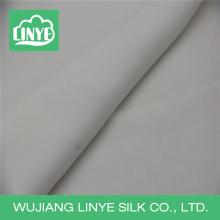 Tecido de casamento branco / tecido de poliéster elegante