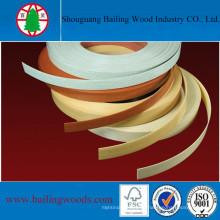 Franja de borde de PVC / ABS de alta calidad para uso de muebles