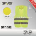 children reflective safety vest wholesale ,100% polyester tricot , EN 1150