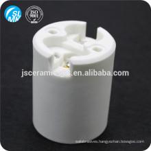 E40 white insulating parts steatite ceramic lamp holder
