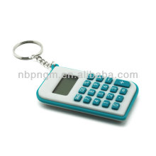 8 Digits Colorful Mini Key Chain Calculator