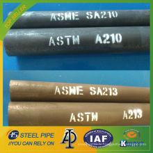 ASME SA335 P1 Tube sans soudure en acier allié