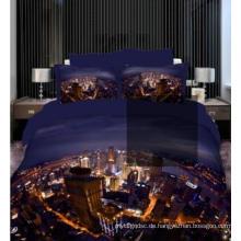 Stadt in der Nacht 100% Baumwolle in 3D-Druck # Ggy-21-Mn