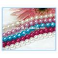 Mehrfarbige Glasstrang Perlen Perle für Halskette