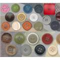 Novos botões resina bonito grande projeto moda por atacado