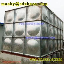 4.88m high 1.22*1.22 hot galvanized carbon steel  panel water tank