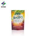 green tea zipper tea packaging bag