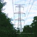 Torre de transmisión de energía en hierro angular de 220 kv