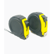 Round leather case steel tape measure