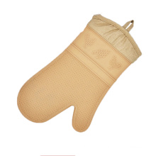 Custom best design cute animal pattern heat resistant soft silicone oven mitts