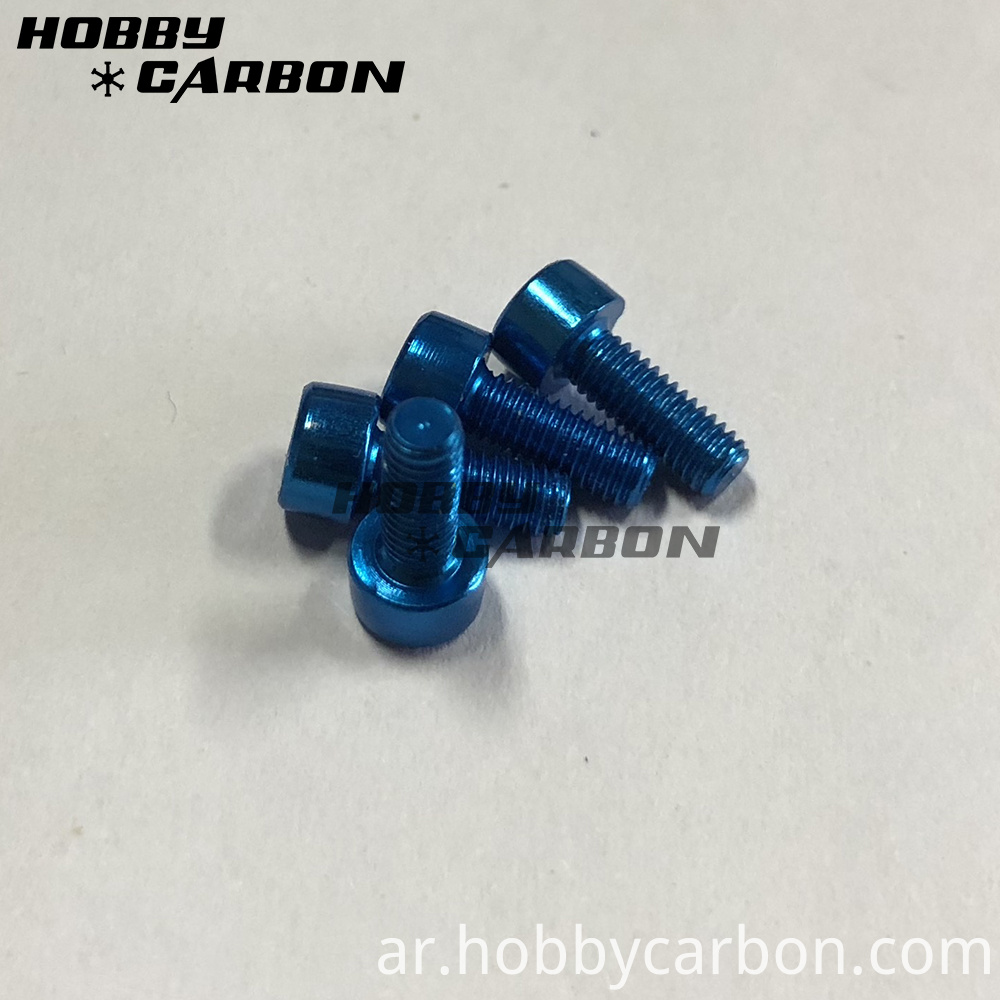 Colored Aluminum Screw Caps