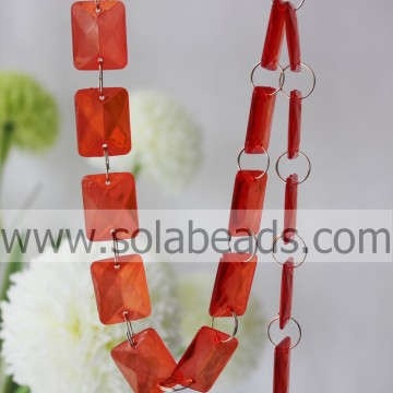 For Holiday 5*20*26MM  Crystal Beading Garland Strands