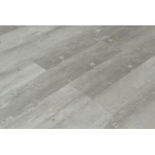 Pisos de tablones de vinilo gris LVT Click