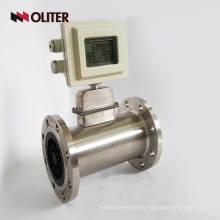 medidor de flujo de masa de gas natural de propano de butano alimentado por batería