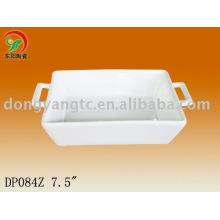 7.5 Inch ceramic desert plate