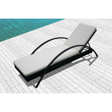 Wicker Lounge for Outdoor with One Piece / SGS (7615-1)