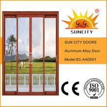 Herrajes para puertas corredizas de vidrio de aluminio