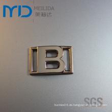 Mode B Brief Kunststoff Schuhschnallen und Zubehör in UV-Beschichtung