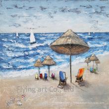 Aluminum Base Impressionism Oil Painting for Seascape