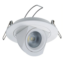 Commerical 110Mm Cut Out Recessed Ceiling Spotlighting 360 Degree Rotating Gimbal Trunk Led Cob Down Light Lamp
