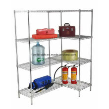 NSF Approval Chrome Steel Middle Duty Warehouse Rack Storage