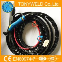 Torch de soldador tig com wp18 Tortilha de soldagem tig 4m
