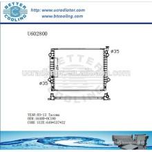 Aluminum Radiator For TOYOTA TACOMA 05-13 164000C180 Manufacturer and Direct Sale