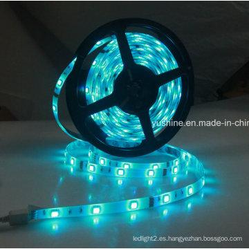 12V 5050 60PCS Tira de luz LED a prueba de agua