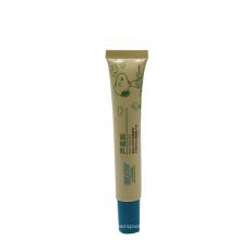 15ml baby lotion aloe vera gel chocolate tube packaging long nozzle
