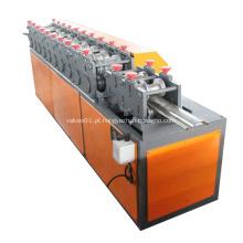 porta do obturador de rolo de aço que forma a máquina