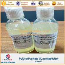 Agente reductor del agua Superplastificante de policarboxilato con alta quatity