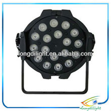 18 4-IN-1 führte rgbw 10w Farbe waschen Licht LED Par 64