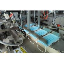 máquina de embalagem de papel e plástico para máscara médica