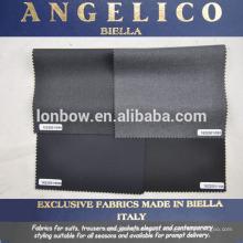 tecido terno de alta qualidade feito em Biella Itália