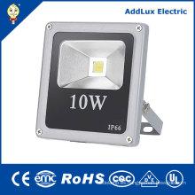 IP66 CE COB 10W Luz de inundación blanca pura del día LED