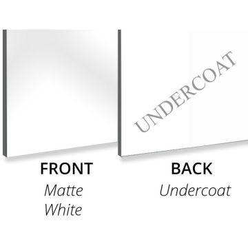 Aluminium Composite Panel Matte White