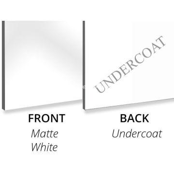 Aluminium Composite Panel Mattweiß