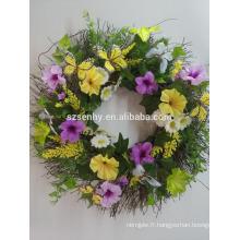 Artisanat artificiel Décorations de Pâques Fleurs de fleurs Fournitures